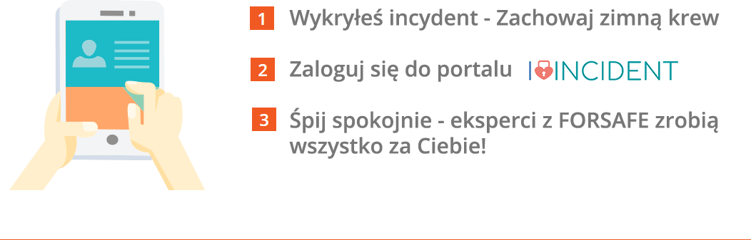 wykryles incydent tekst Zgłoś incydent