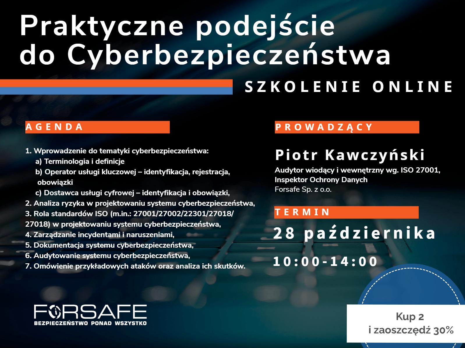 3 cyber Szkolenia stacjonarne